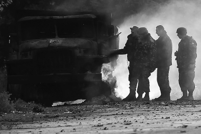 乌克兰现停火后首名平民死亡(图)