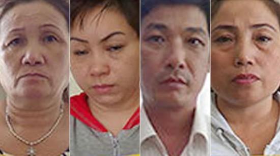 越南警方逮捕6人犯罪团伙 涉嫌拐卖147名妇女至中韩(图)