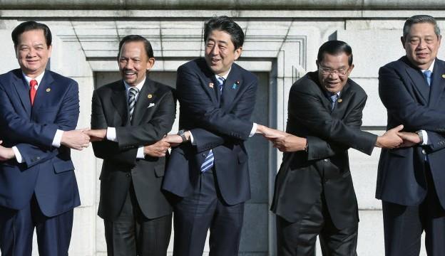 日本将与东盟国家签订军事补给互供协定