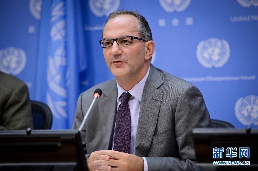 联合国儿基会将在西非大幅增员抗击埃博拉(高清图)