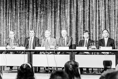 2014年诺贝尔物理、化学和经济学奖得主齐聚斯德哥尔摩(图)