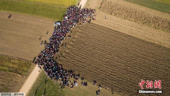 欧盟拟建新边防机构应对难民危机 遭部分成员反对(图)