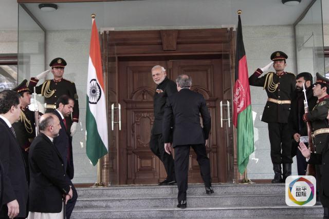 印巴总理会面!一条推特引发的印巴外交新佳话(组图)