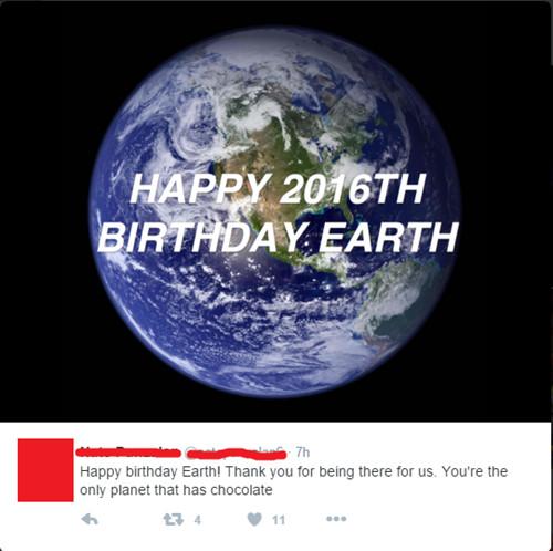 新年快乐:美国网友竟认为地球只有2016岁(图)