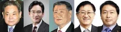 """韩媒:韩富豪榜为""""继承者们""""天下 白手起家者少"""