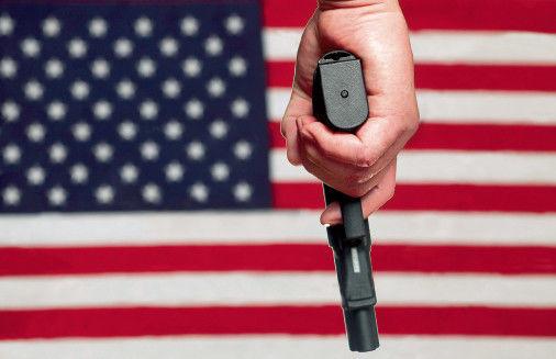 """奥巴马控枪被指""""行政僭越"""" 得州州长说有胆就来拿(图)"""