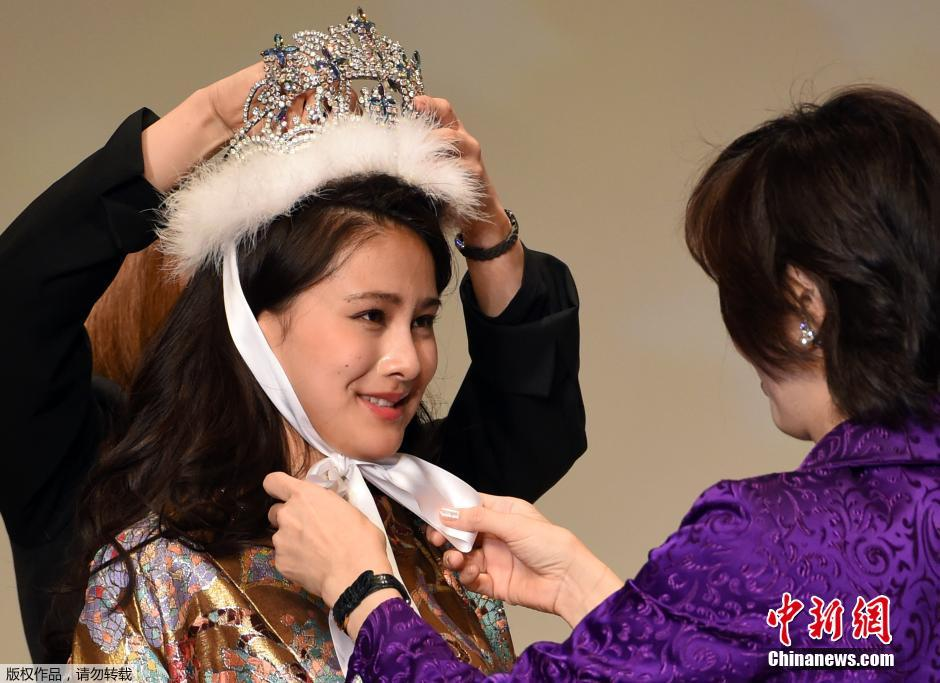 日本小姐选美大赛 20岁名校女生夺冠(高清组图)