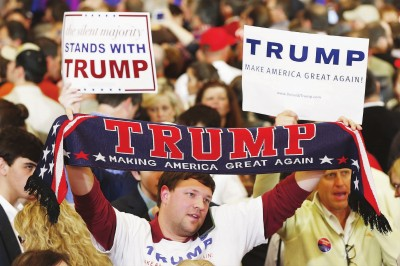焦虑的美国撕裂共和党认同感
