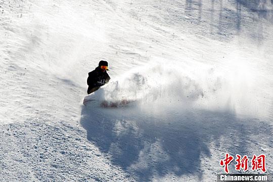 2016单板滑雪世锦赛在亚布力开赛
