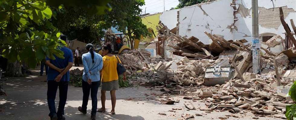 走进墨西哥8.2级地震受灾最严重的州