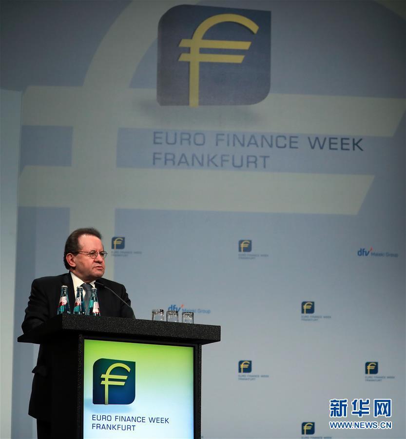 (國際)(2)第20屆法蘭克福歐元金融周開幕