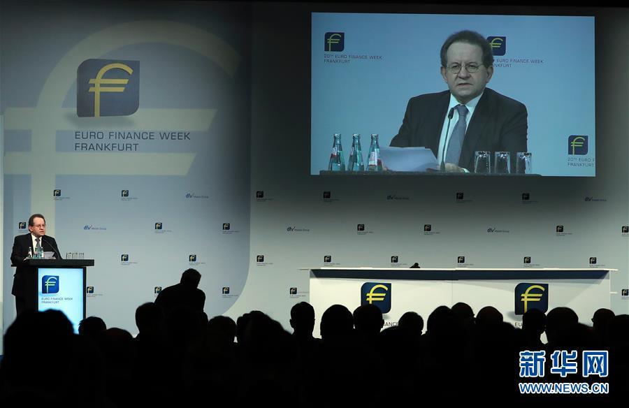 (國際)(1)第20屆法蘭克福歐元金融周開幕