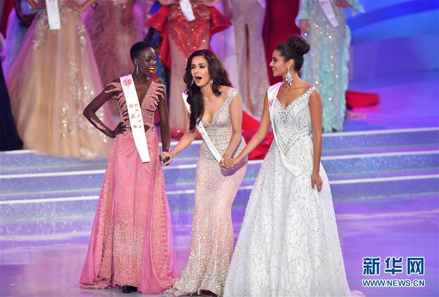 (文化)(1)世界小姐全球總決賽三亞舉行