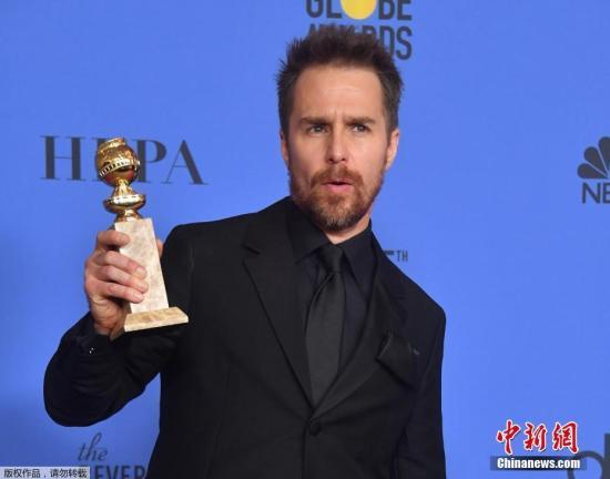 山姆·洛克威爾憑藉《三塊廣告牌》拿下電影類最佳男配角。