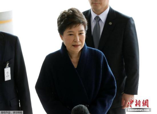 資料圖:韓國前總統樸槿惠。