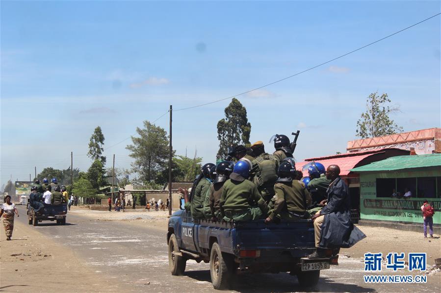 (國際)(1)贊比亞霍亂疫區發生騷亂
