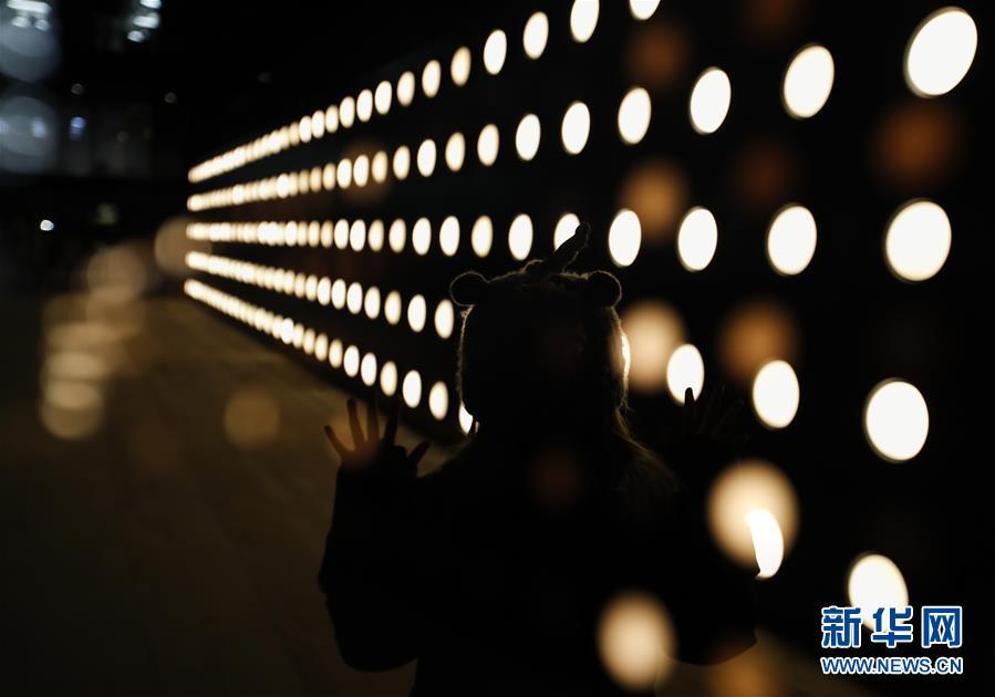 (國際)(1)燈光藝術扮靚倫敦街頭