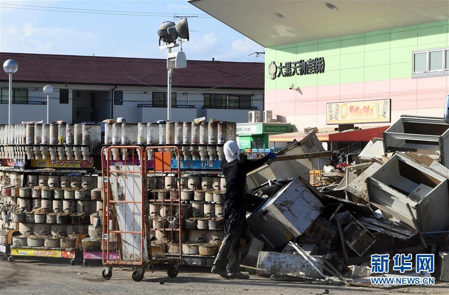 (國際)(1)日本暴雨過後滿目瘡痍
