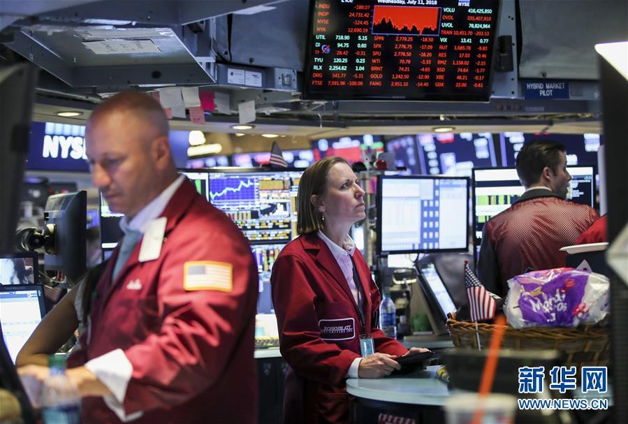(國際)(2)紐約股市三大股指11日收盤下跌