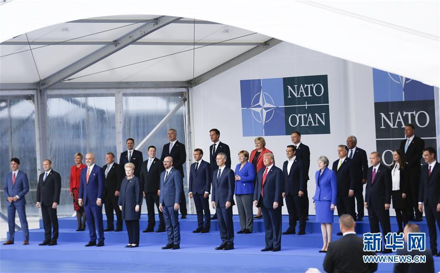(國際)(1)北約峰會聚焦責任分擔、反恐和軍事建設議題