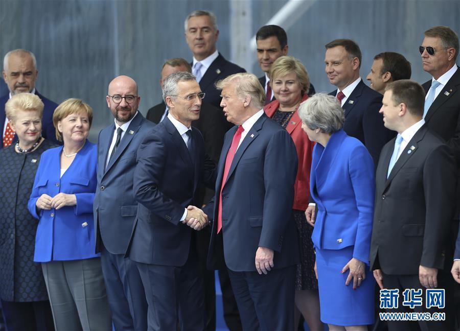 (國際)(3)北約峰會聚焦責任分擔、反恐和軍事建設議題